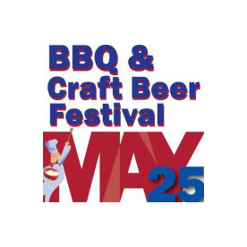BBQ & Craft Beer Festival May 25 Logo