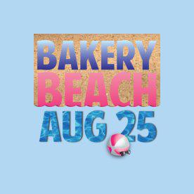 Bakery Beach Aug 25 Event Logo