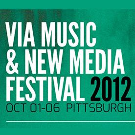 VIA Music & New Media Festival 2012 Event Logo